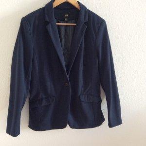 H&M Jersey Blazer azul oscuro Algodón