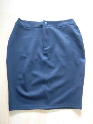Asos Kokerrok donkerblauw Polyester