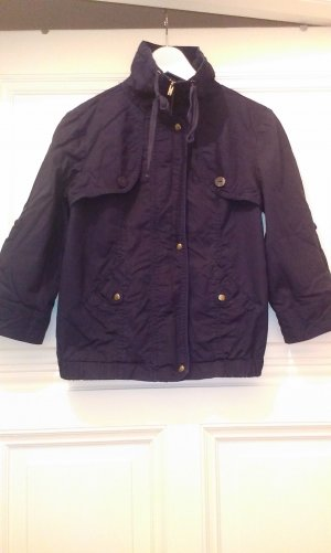 Promod Blouson dark blue cotton