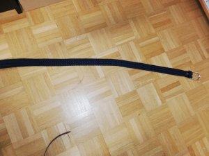 Dunkelblauer Bogner Flechtgürtel104 cm
