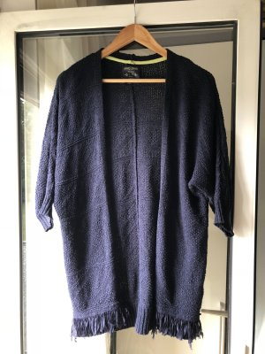 Bershka Cardigan dark blue