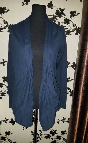 Dunkelblauer Cardigan - Strickjacke - Gr. L - Only