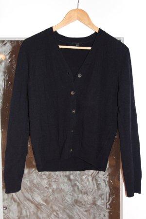 Dunkelblauer Cardigan von COS aus Wolle