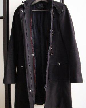 Dunkelblauer Duffle Coat für Frühjahr und Herbst