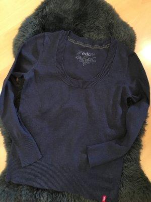 Dunkelblauer EDC Pullover
