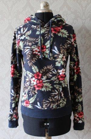 Maglione con cappuccio multicolore Cotone