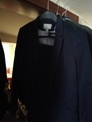 H&M Suit Trouser dark blue