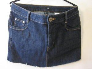 Dunkelblauer Jeans Mini