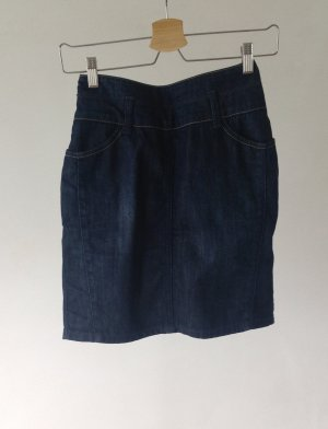 de.corp by Esprit Gonna di jeans blu scuro