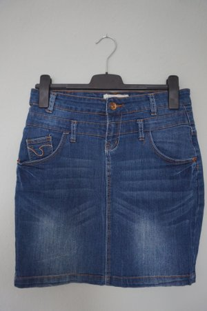 Dunkelblauer Jeansrock Denim in Gr. 36