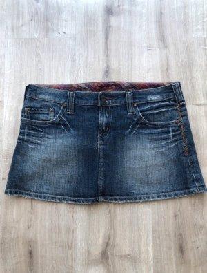 Review Jupe en jeans bleu foncé