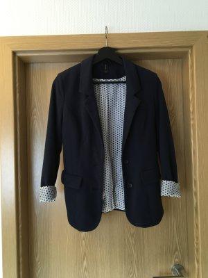 Dunkelblauer Jersey-Blazer Gr.S
