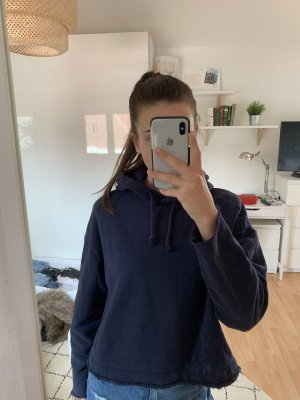 H&M Hooded Sweater dark blue