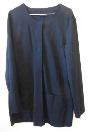 dunkelblauer Long-Blazer von MORE&MORE, 40