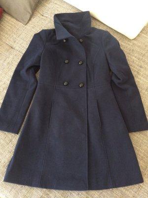 dunkelblauer Mantel Gr:36