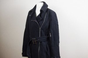 Armani Jeans Wool Coat dark blue