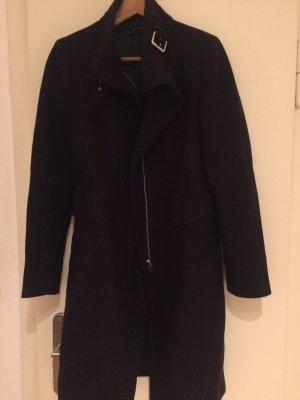 Zara Manteau bleu foncé