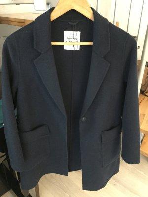 Zara Coat dark blue