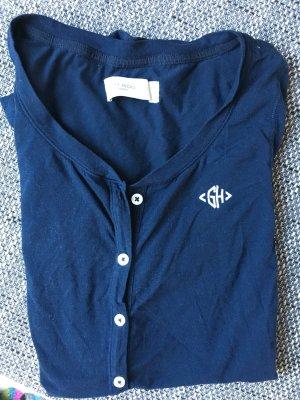 dunkelblauer One-Piece Pyjama
