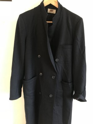 Oversized Coat dark blue new wool