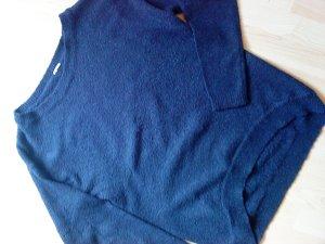 dunkelblauer Oversized Pullover von Only M