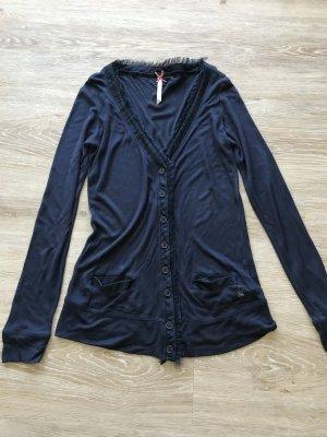 dunkelblauer Pepe Jeans Cardigan mit vielen schönen Details