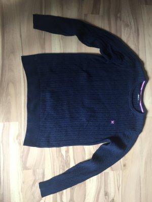 Dunkelblauer Pullover Größe XL