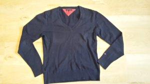 dunkelblauer Pullover von Tommy Hilfiger Größe L