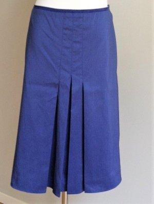 Luisa Cerano Flared Skirt blue cotton