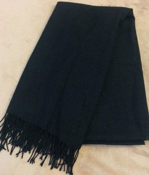 Accessorize Fringed Scarf black-dark blue