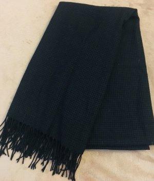 Accessorize Bufanda de flecos negro-azul oscuro