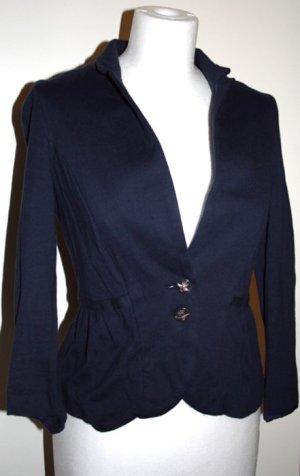 Zara Blazer bleu foncé-argenté