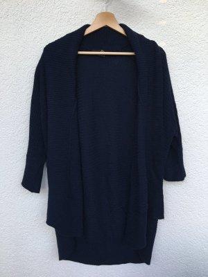 dunkelblauer strick-cardigan von forever 21