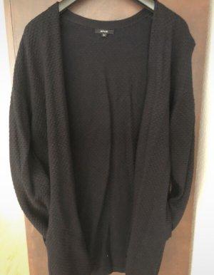 Opus Gebreide jas donkerblauw