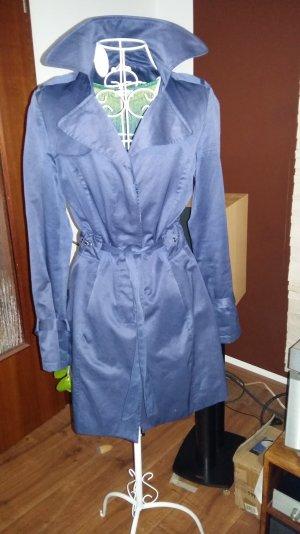 dunkelblauer Trenchcoat von Orsay Mantel Gr 36