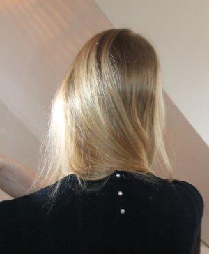 Zara Knit Sweater met korte mouwen veelkleurig Viscose