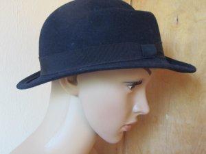 Cappello blu scuro Lana
