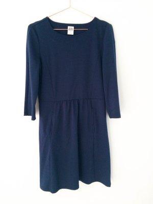 Dunkelblaues 3/4 Arm Kleid von VERO MODA