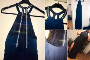 Ball Dress dark blue