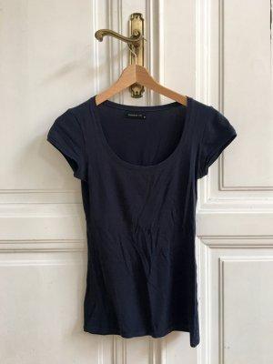 Dunkelblaues Basic Shirt | T-Shirt von modström Trick