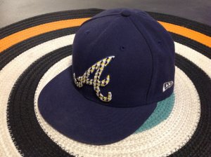 dunkelblaues Cap mit A, New Era