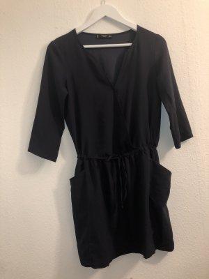 Dunkelblaues casual Kleid