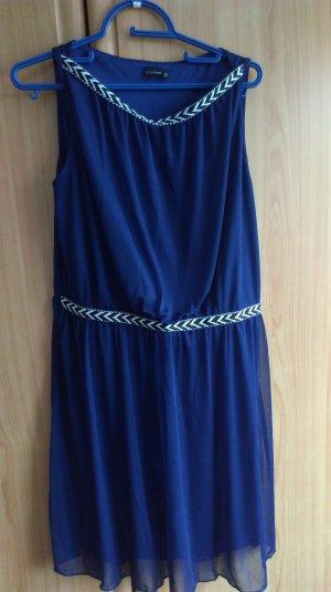 Bodyflirt T-shirt jurk donkerblauw-staalblauw