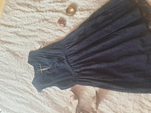 Vila Lace Dress dark blue