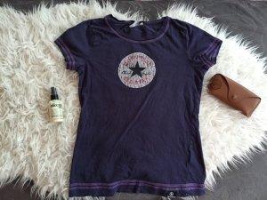 dunkelblaues Converse T-shirt