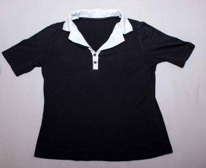 dunkelblaues Damen Poloshirt