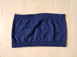 Bandeau top donkerblauw