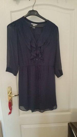 dunkelblaues elegantes Kleid von H&M