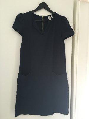 Dunkelblaues gerades Kleid von Mango in Gr. S. Sehr hübsch!