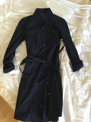 Tommy Hilfiger Shirtwaist dress dark blue-blue cotton